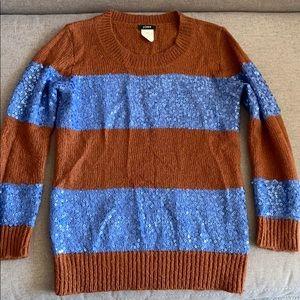 Stunning JCrew striped sweater XXS